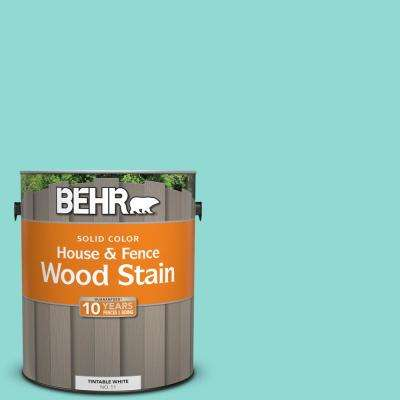1 gal. #490A-3 Sweet Rhapsody Solid Color House and Fence Exterior Wood Stain