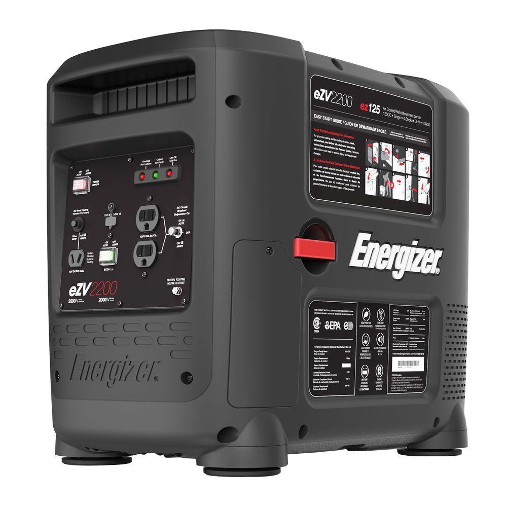 2,200-Watt Gasoline Portable Inverter Generator