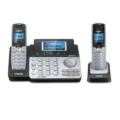 Connect-To-Cell 2-Handset Cordless Phone System