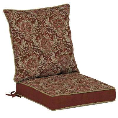Venice Snap Dry 2-Piece Outdoor Lounge Chair Cushion