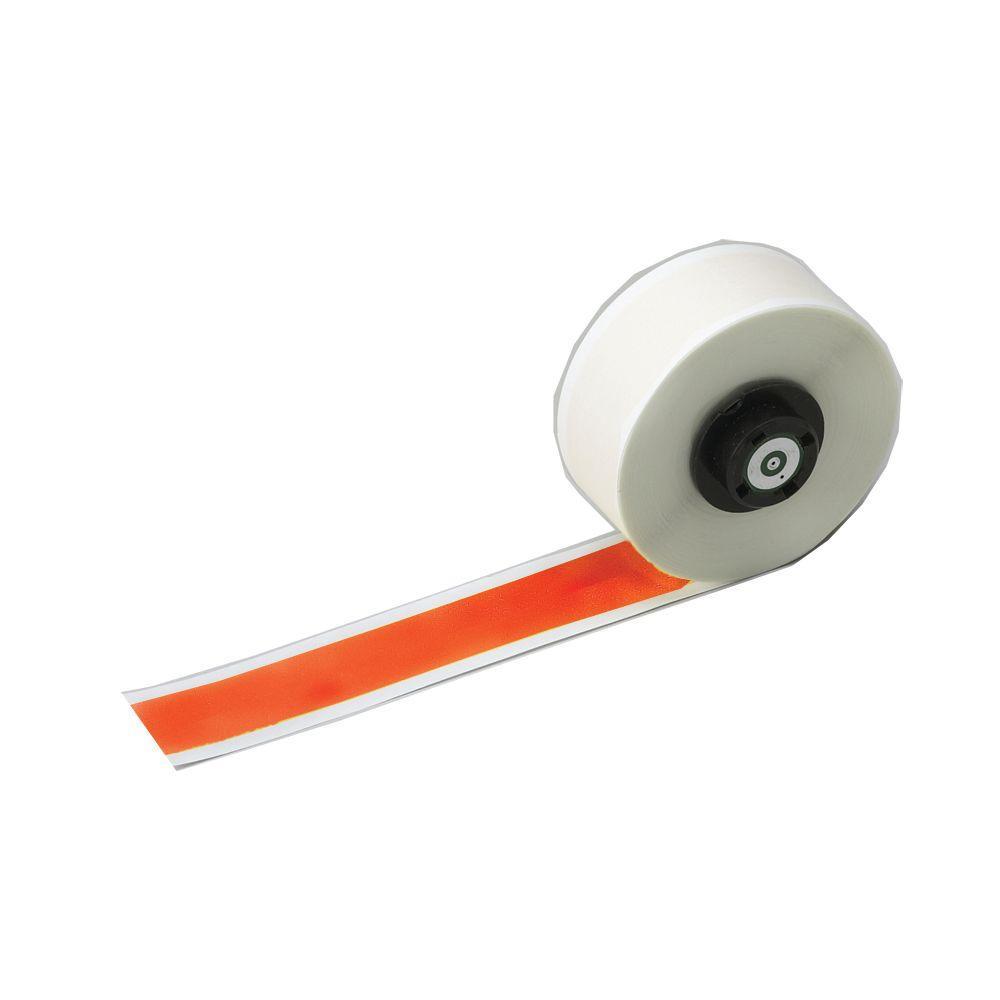 B-595 HandiMark 0.5 in. x 50 ft. Indoor/Outdoor Vinyl Orange Film Tape 1 per Roll