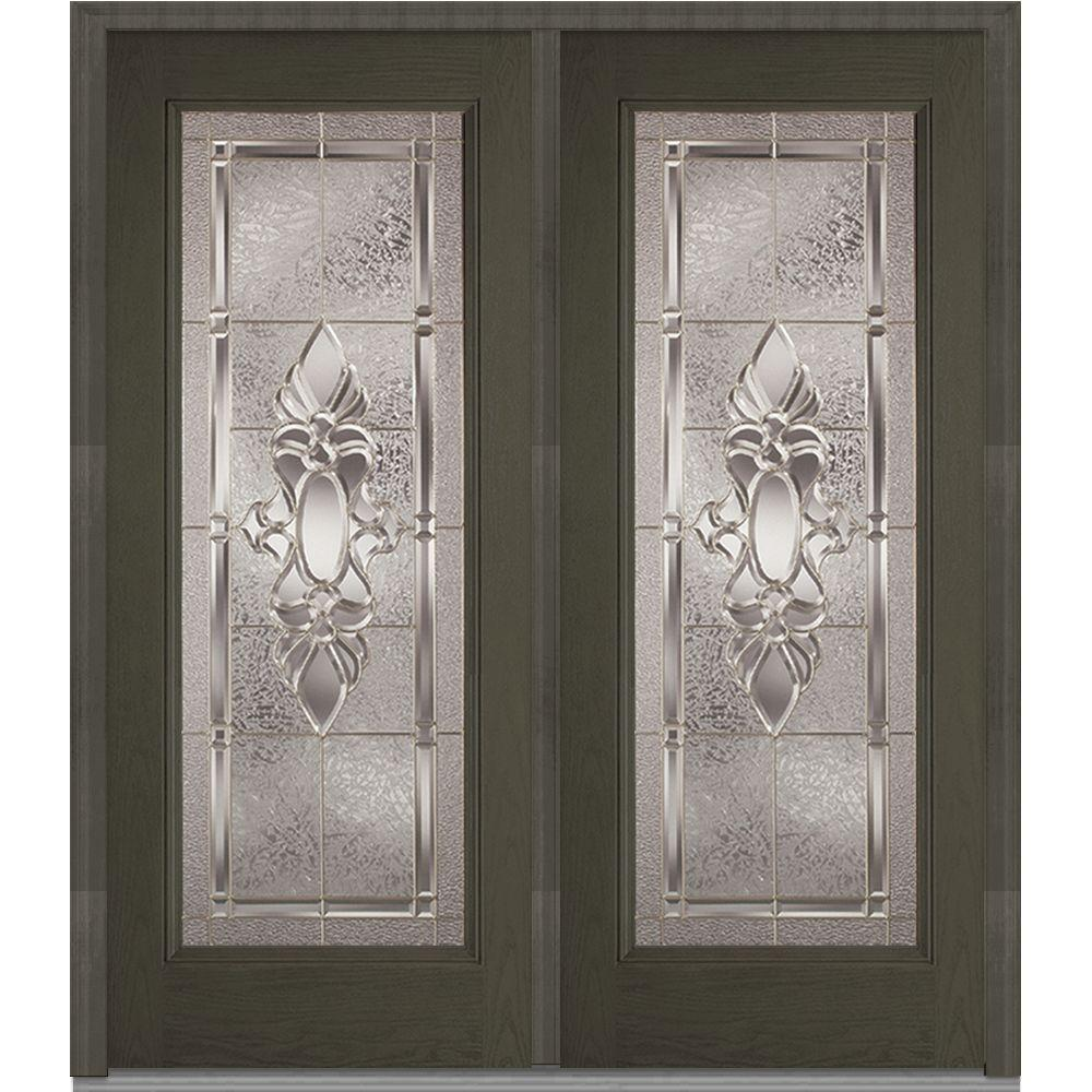 72 in. x 80 in. Heirloom Master Right-Hand Full Lite Classic