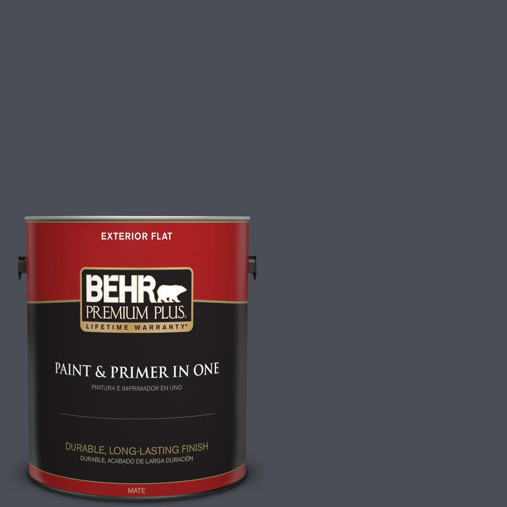 1 gal. #PPU15-20 Poppy Seed Flat Exterior Paint
