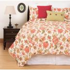 Alyssa Red King Quilt Set