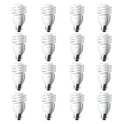 100-Watt Equivalent T2 Twister CFL Light Bulb Daylight Deluxe (16-Pack)