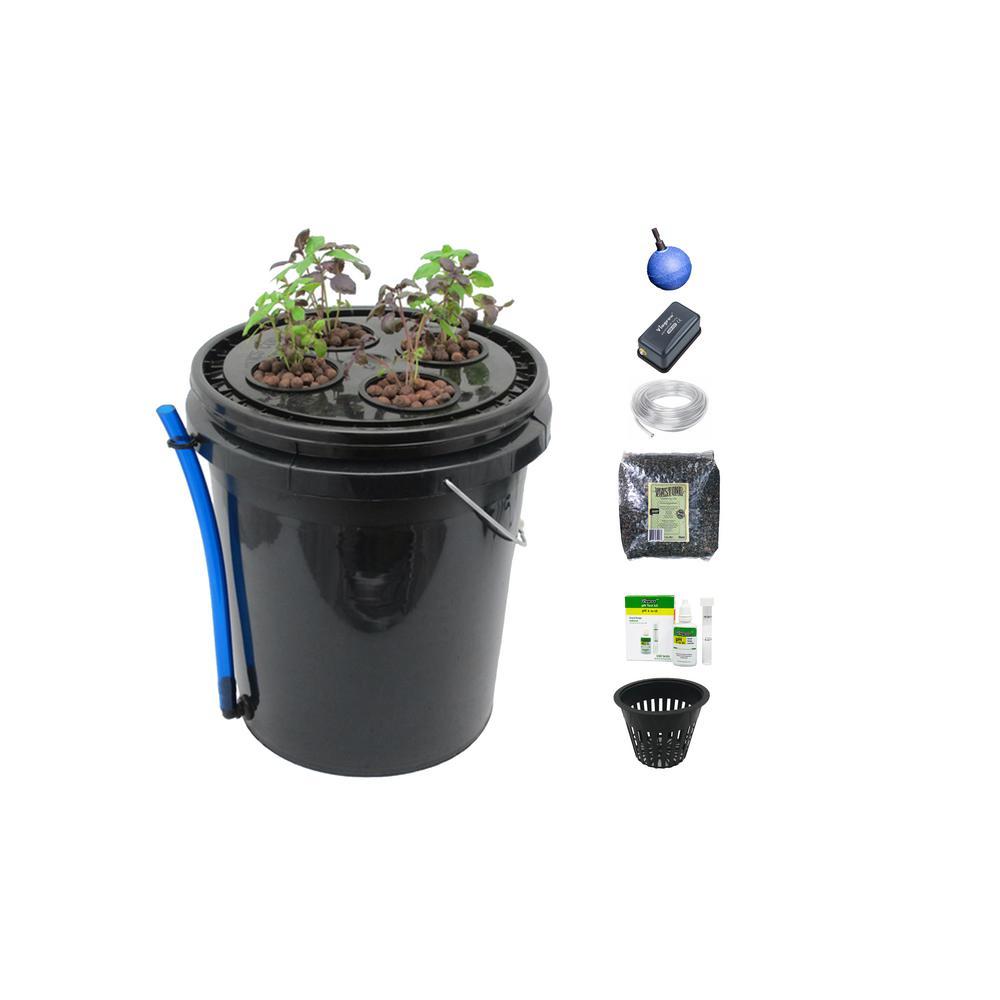 Hydroponic Deep Water Culture Vegetative System (4-Site)