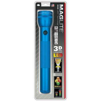 LED 3D Flashlight in Blue