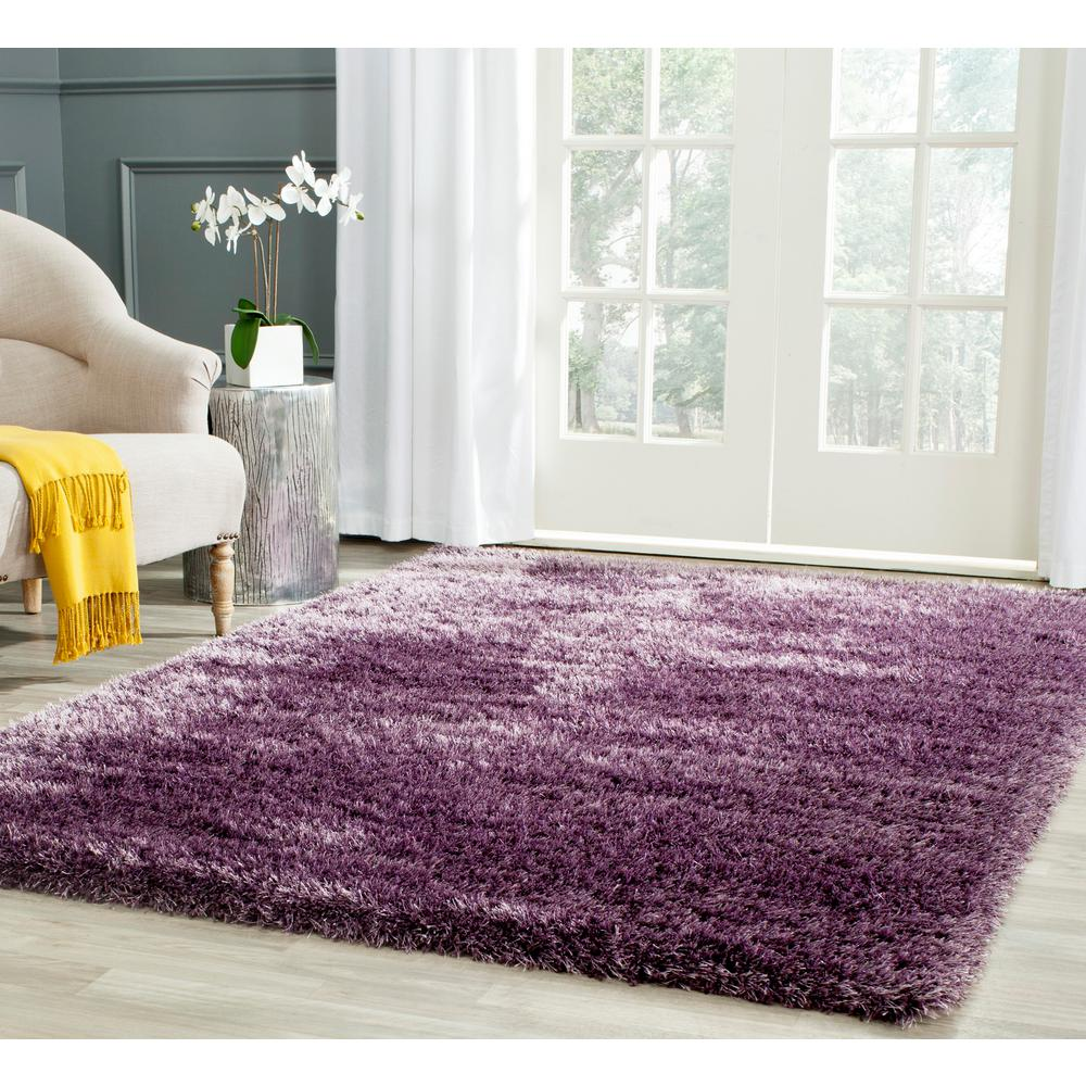 charlotte shag lavender 4 ft x 6 ft area rug get quotations donnieann company shaggy purple abstract swirl rug