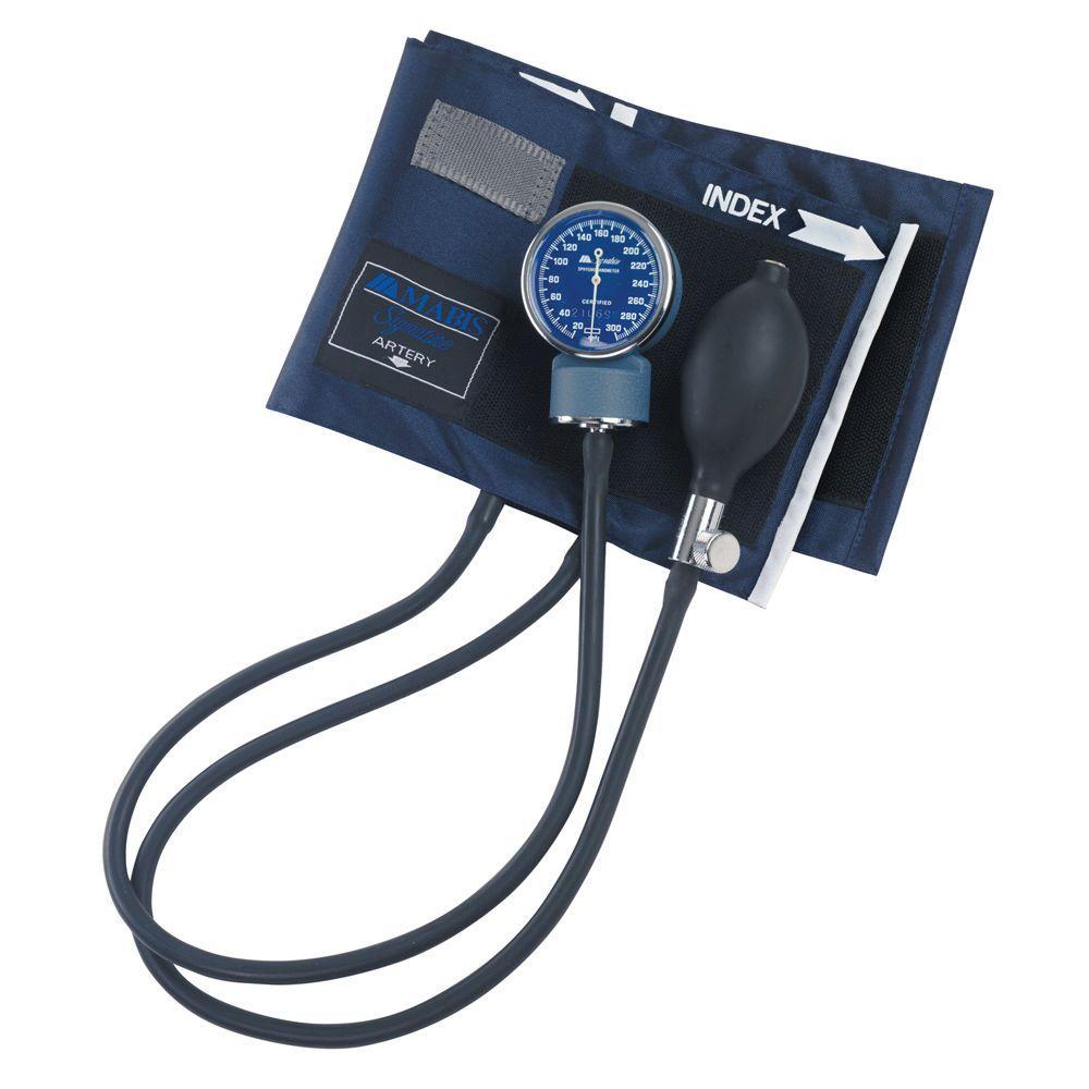 Signature Aneroid Sphygmomanometers with Blue Nylon Cuff