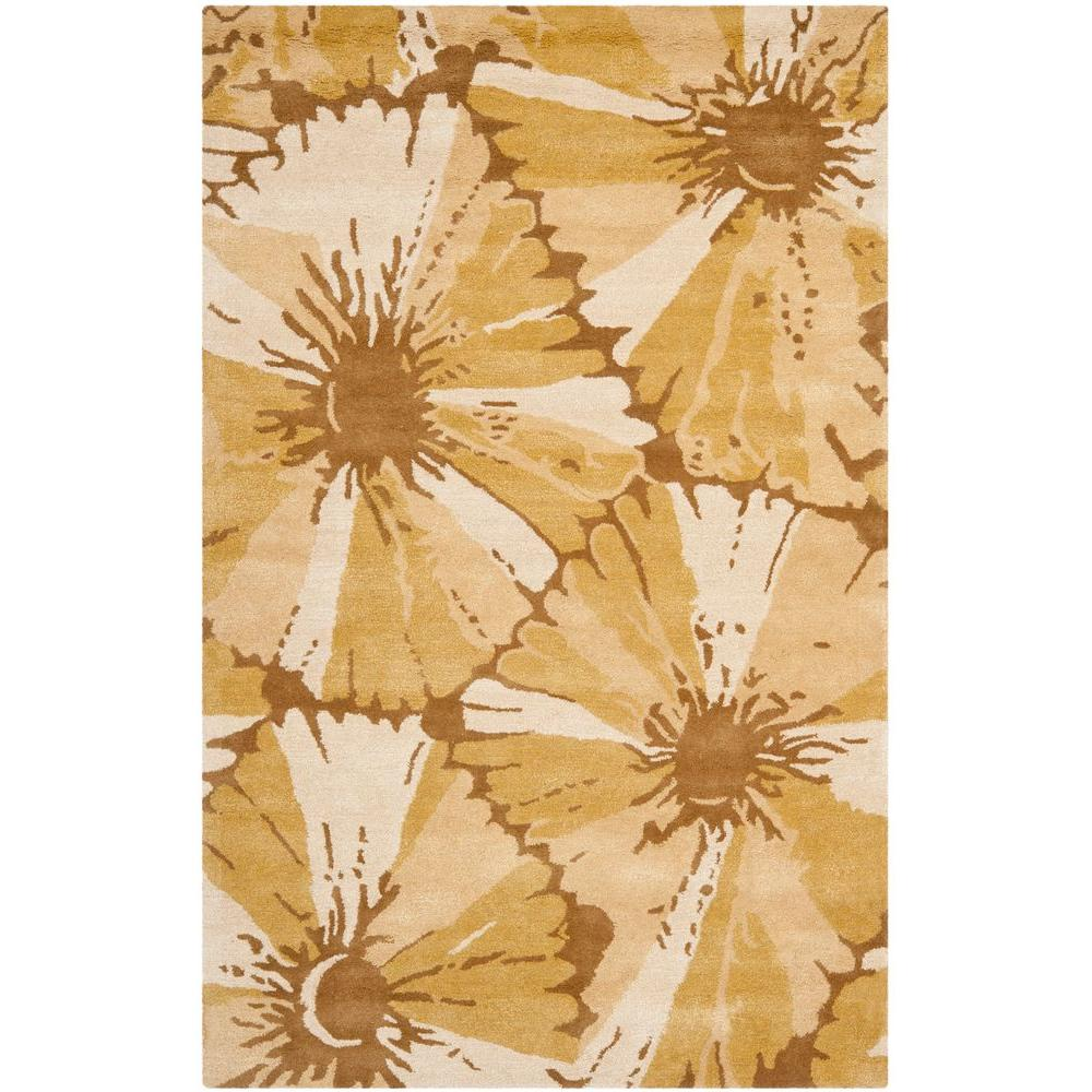 Safavieh Soho Brown/Ivory 7 ft. 6 in. x 9 ft. 6 in. Area Rug