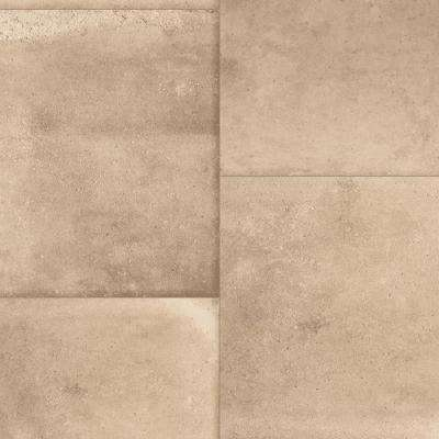 Keaton Tan Stone 13.2 ft. Wide x Your Choice Length Residential Sheet Vinyl Flooring