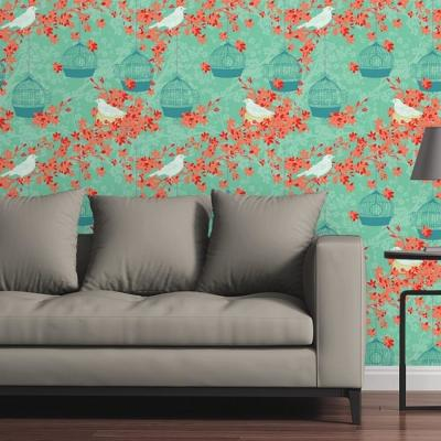 Birdcages I by Raygun Removable Wallpaper Panel
