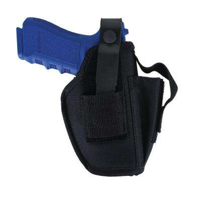 Ambidextrous Belt Holster Fits 2.25 in. and Shorter Small Frame 5-6 Shot Revolvers with Hammer Spur