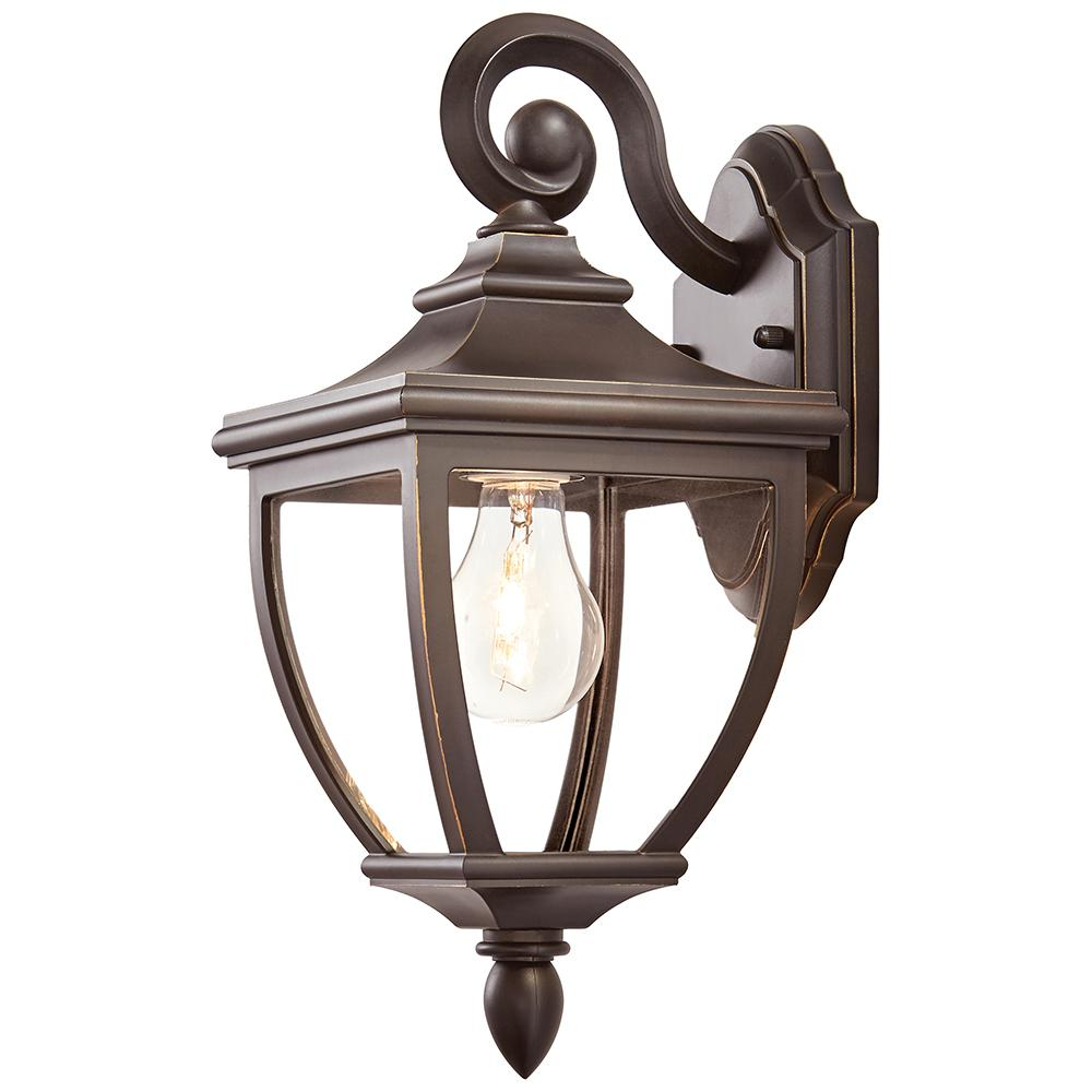 Home Lighting Collections: Home Decorators Collection 1-Light Oil-Rubbed Bronze