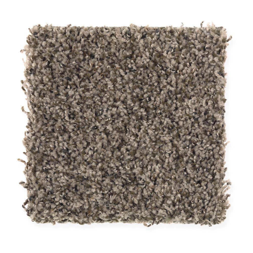 Carpet Sample - Sachet II - Color Rodeo Texture 8 in. x 8 in.