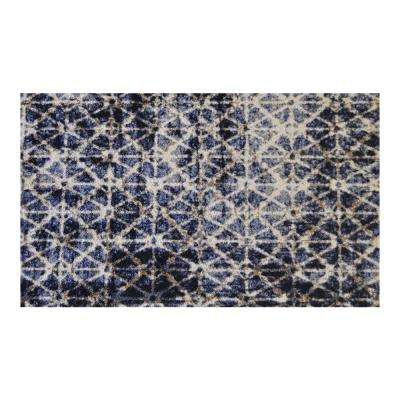 In-Home Washable/Non-Slip Burnt 2 ft. 3 in. x 3 ft. 11 in. Area Rug & Mat