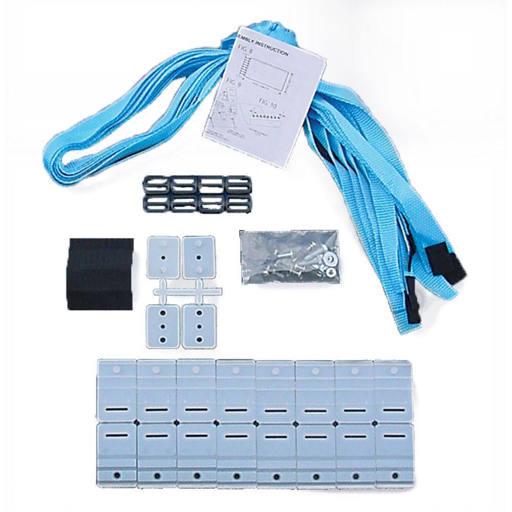 Universal Strap Kit for In-Ground Solar Reel System