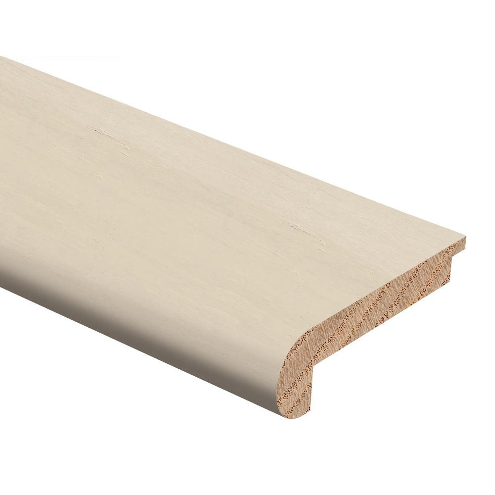 Zamma Strand Woven Bamboo White 3 8 In Thick X 2 3 4 In