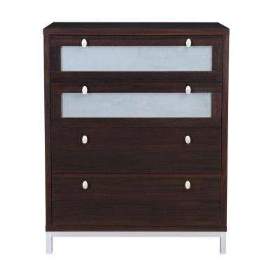 Callen 4-Drawer Coffee Bean Dresser