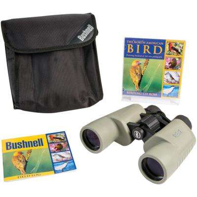 Birder 8 x 40 mm Porro Binoculars With CD
