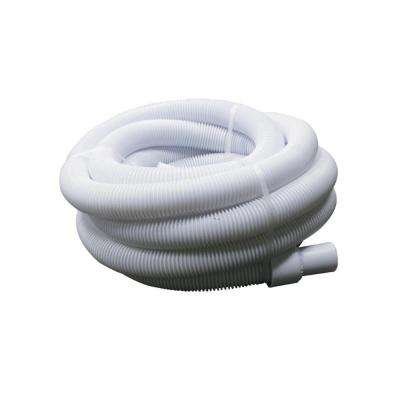 25 ft. x 1.5 in. White Blow-Molded LDPE In-Ground Swimming Pool Vacuum Hose
