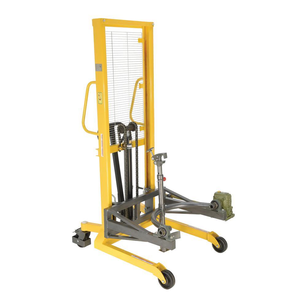 Vestil Drum Lifter/Rotator/Transport/Steel Jaw