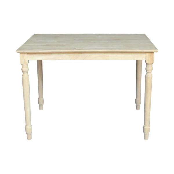 International Concepts Unfinished Dining Table K-3042-330T