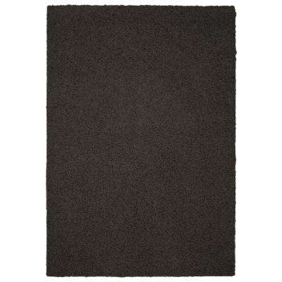 Southpointe Shag Chocolate 8 ft. x 10 ft. Area Rug