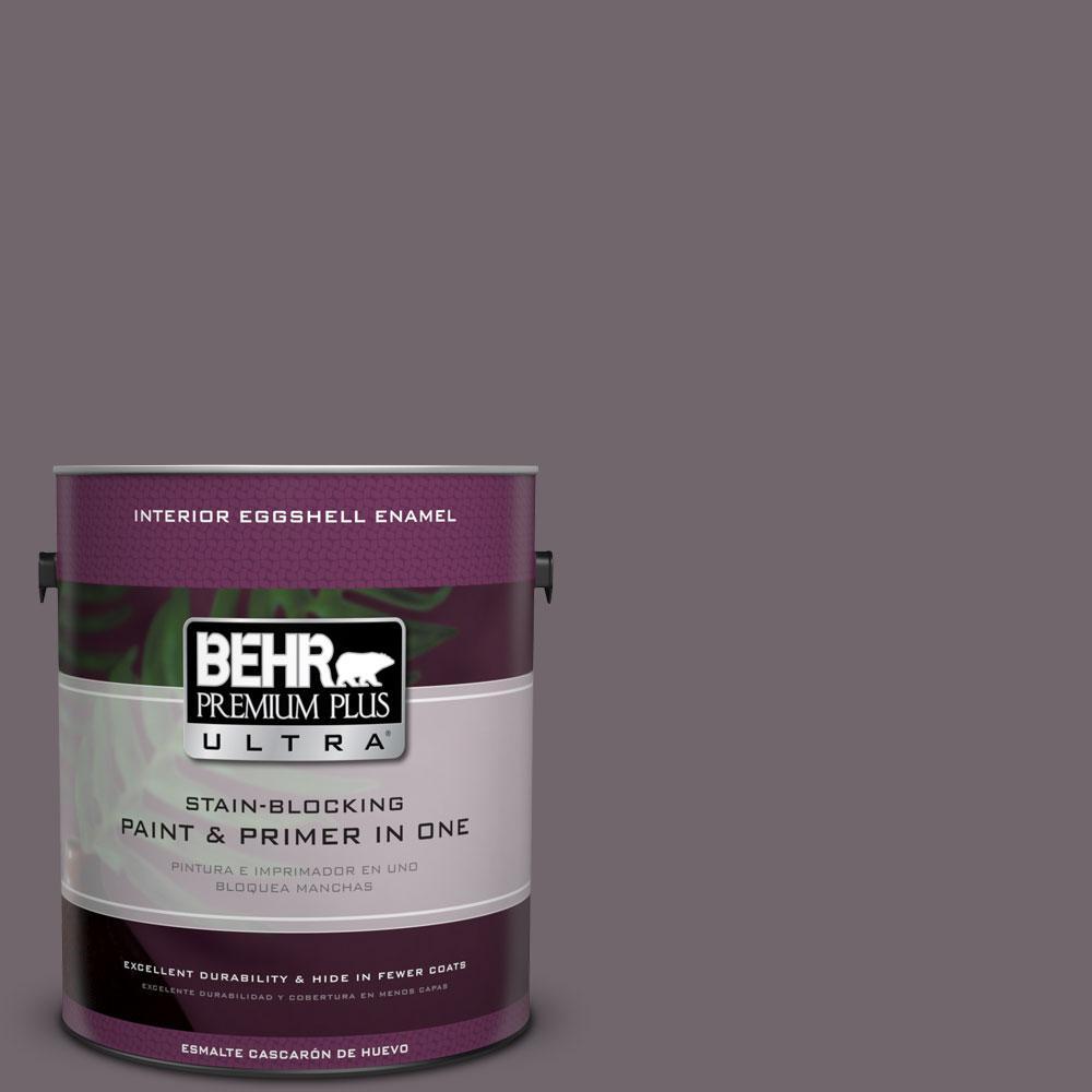 BEHR Premium Plus Ultra 1-gal. #N570-5 Curtain Call Eggshell Enamel Interior Paint