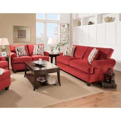 Red - Fabric - Living Room Sets - Living Room Furniture - The Home Depot