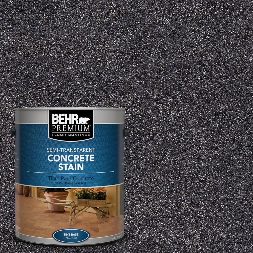 1 gal. #STC-35 Dark Coal Semi-Transparent Interior/Exterior Concrete Stain