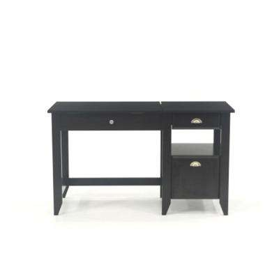 Shoal Creek Jamocha Wood Lift-Top Desk