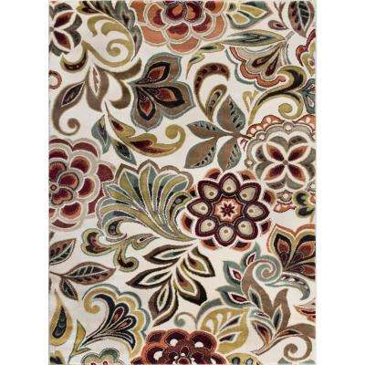 Deco Ivory 9 ft. x 13 ft. Area Rug