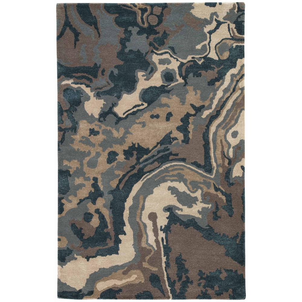 Driftwood 8 ft. x 10 ft. Abstract Area Rug