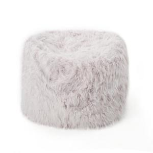 Phenomenal Noble House 5 Ft Lavender Long Faux Fur Bean Bag 19388 Inzonedesignstudio Interior Chair Design Inzonedesignstudiocom