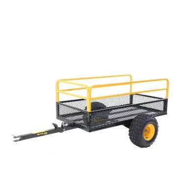 HDM 1400 23 cu. ft. Metal Mesh Dump Trailer