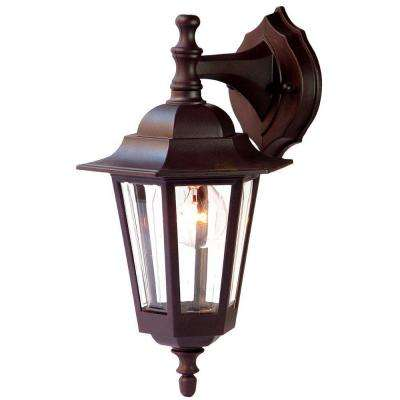 Tidewater Collection 1-Light Architectural Bronze Outdoor Wall-Mount Light Fixture