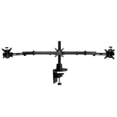 Triple Horizontal Direct Clamp Mount with 16 in. Pole and Telescopic Wings