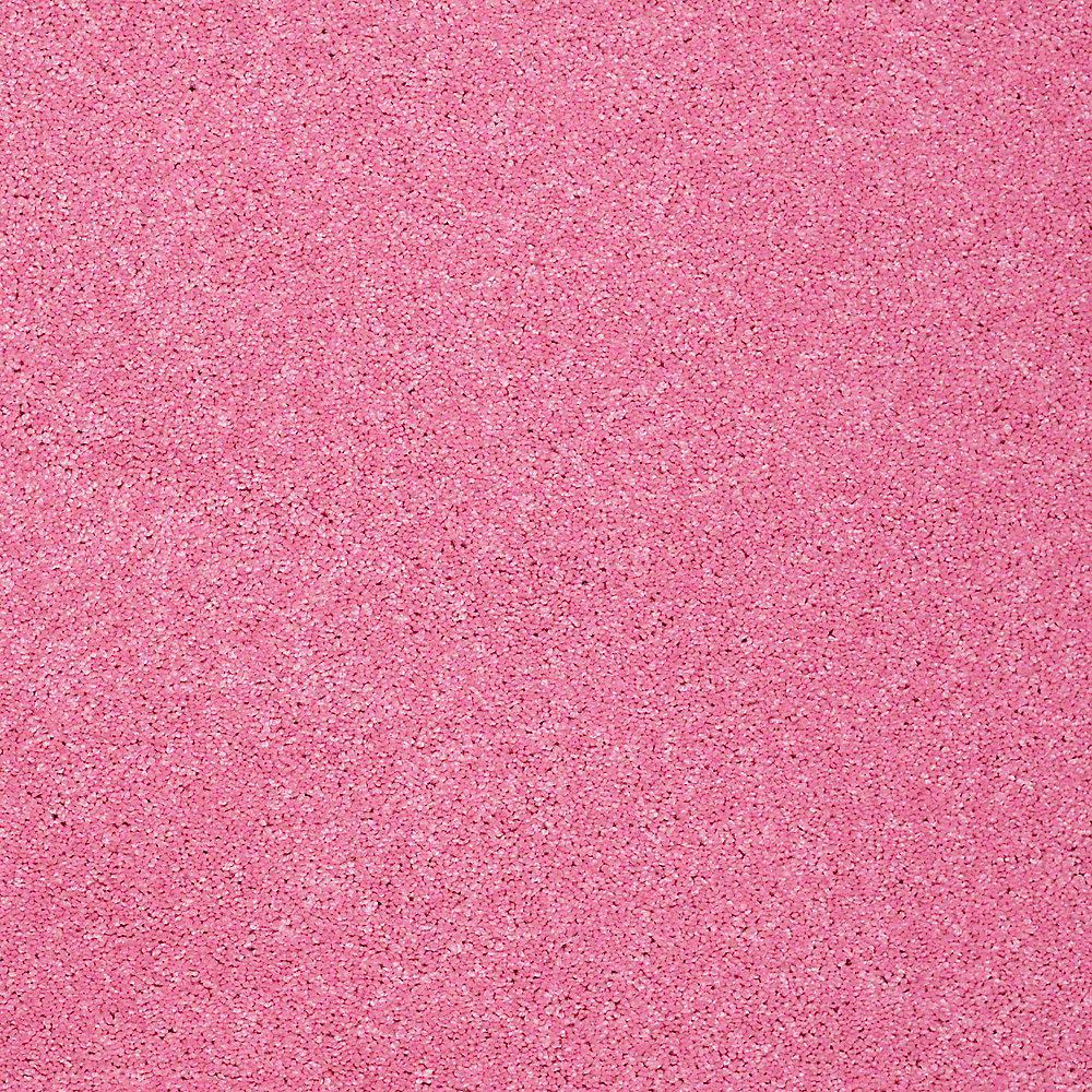 Carpet Sample - Joyful Whimsey - In Color Pretty in Pink 8 in. x 8 in.