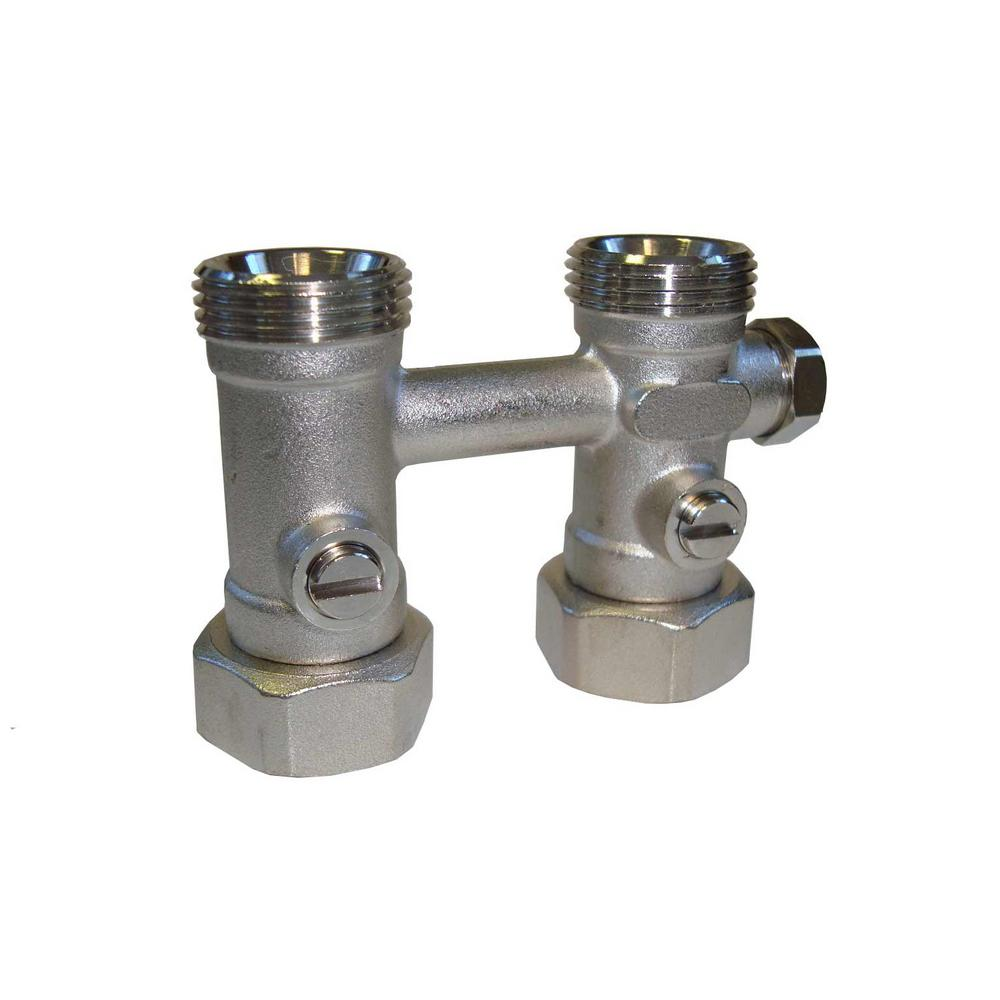 Pensotti Straight Isolation Valve with By-Pass and O-Ring Seat for ...
