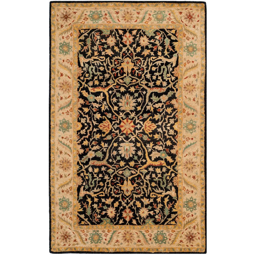 Antiquity Black 8 ft. 3 in. x 11 ft. Area Rug