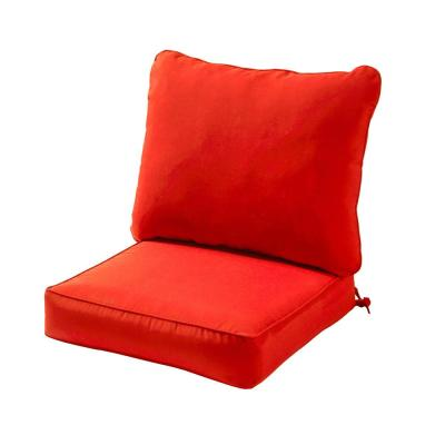 Solid Salsa 2-Piece Deep Seating Outdoor Lounge Chair Cushion Set