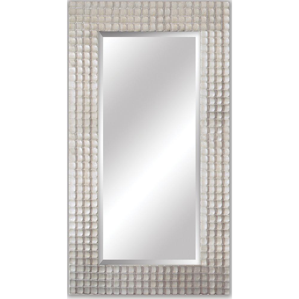 Corbin Rectangular Iridescent Decorative Wall Mirror