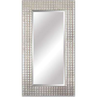 Corbin Rectangular Iridescent Decorative Wall Mirror