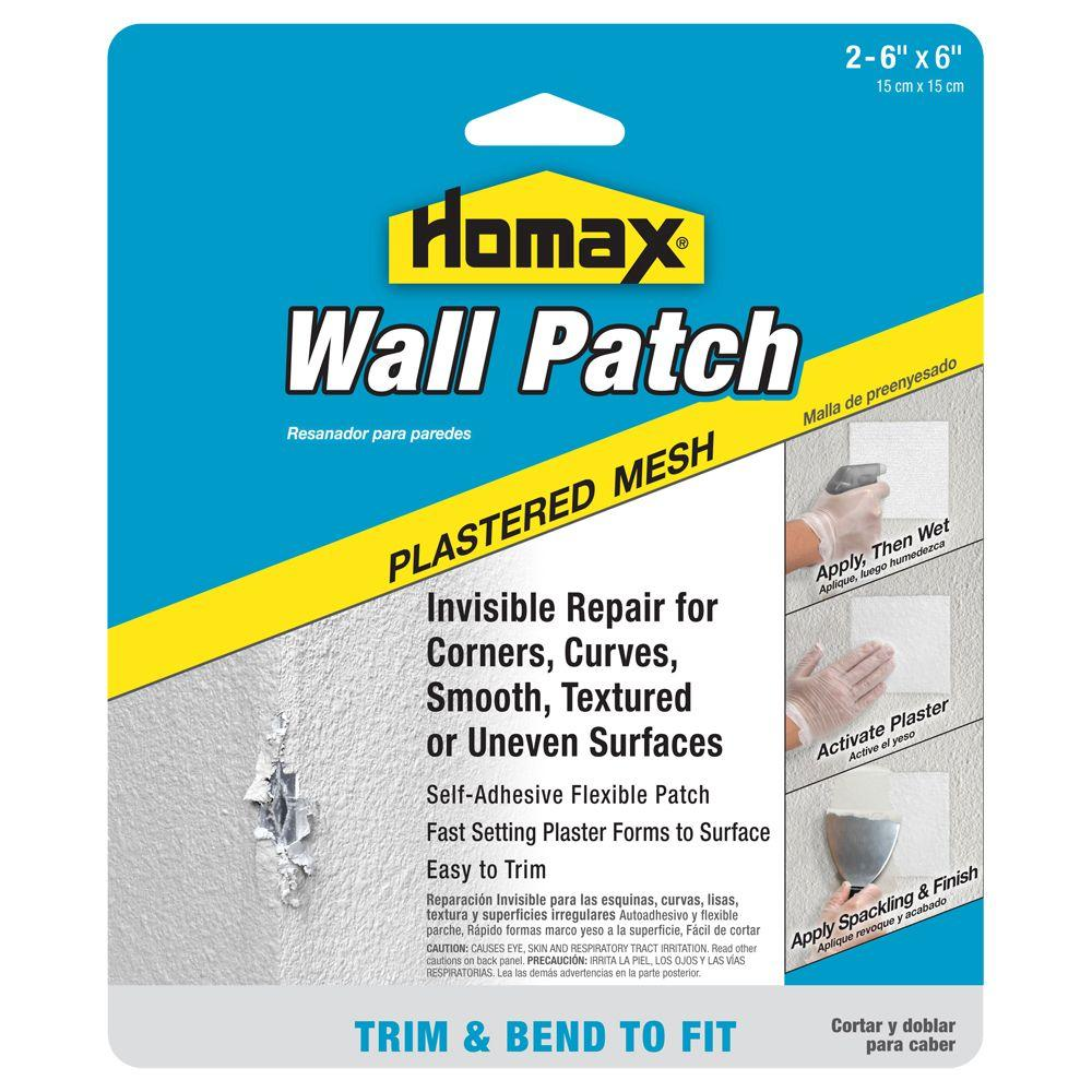 Homax 2-6 in. x 6 in. Pre Plastered Mesh Wall Patch