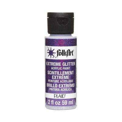 2 oz. Purple Extreme Glitter Craft Paint