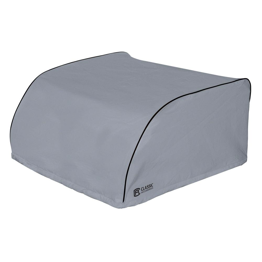 Overdrive 27.25 in. L x 29 in. W x 14.25 in. H Grey RV Air Conditioner Cover Dometic Overdrive 27.25 in. L x 29 in. W x 14.25 in. H Grey RV Air Conditioner Cover Dometic