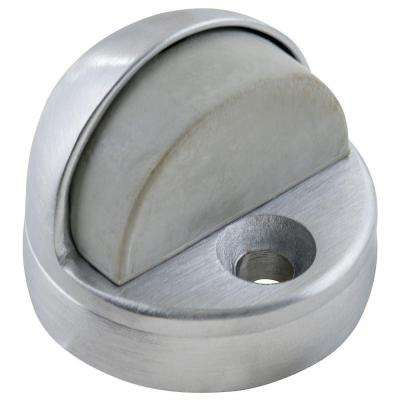 1-3/4 in. Satin Chrome Dome Floor Stop with Riser