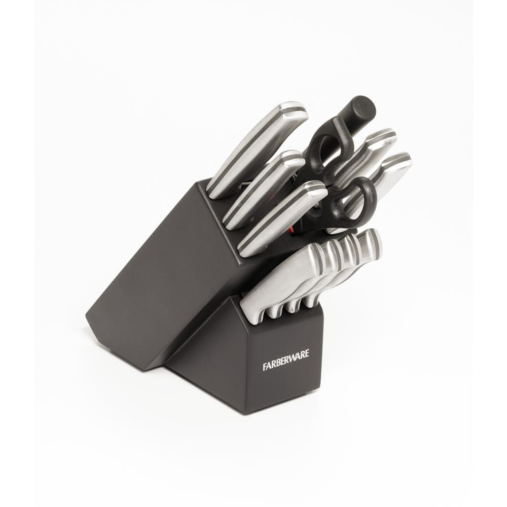 Farberware 12 Piece Stamped Stainless Steel Knife Set