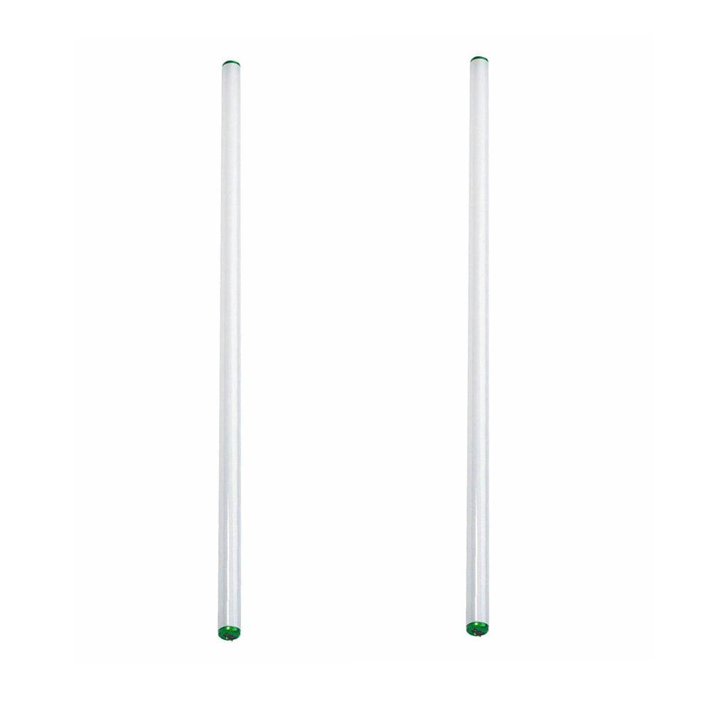 40-Watt 4 ft. Linear T12 ALTO Fluorescent Tube Light Bulb Bright White (3000K) (2-Pack)